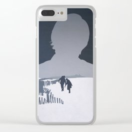 Meet Me In Montauk Clear iPhone Case