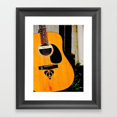 Peace, Love, Music Framed Art Print
