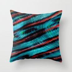 Wave Theory Throw Pillow