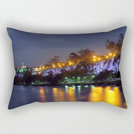 Kangaroo Point Cliffs Rectangular Pillow
