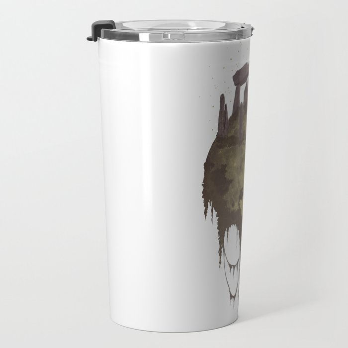 Moon Ruins Travel Mug