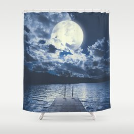 Bottomless dreams Shower Curtain