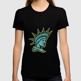 Lady Liberty or Libertas Mascot T-shirt