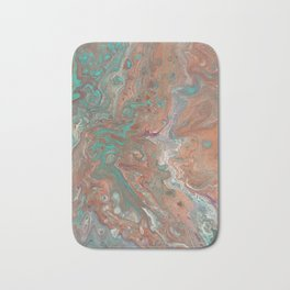 """Copperopolis"" by Laurie Ann Hunter Bath Mat"
