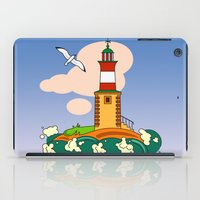 lighthouse iPad Cases featuring Lighthouse by LaDa