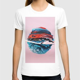 ACRYLIC BALL ABSTRACT // 3D ABSTRACT T-shirt