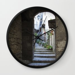 borgo italiano Wall Clock