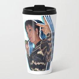 Peace Out Kris Jenner Travel Mug