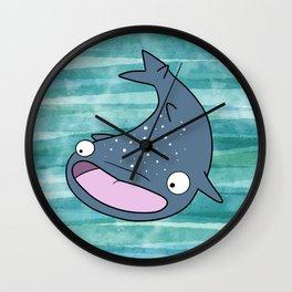 Janice the Whale Shark Wall Clock