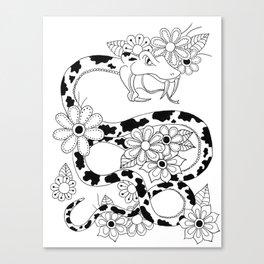 Mega Snake Canvas Print