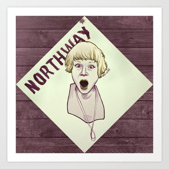 Northway Art Print