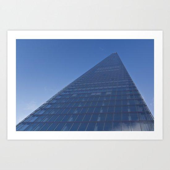 The Shard london Art Print