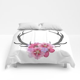 Deer Antlers Comforters