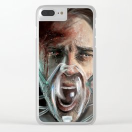 Scream Clear iPhone Case
