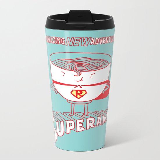 Superamen Metal Travel Mug