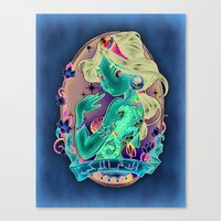 royal Canvas Prints featuring Royal Blood by Tim Shumate