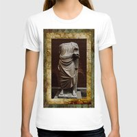 greece T-shirts featuring Greece  by Saundra Myles