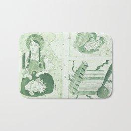 Anne of Gren Gables Green Bath Mat