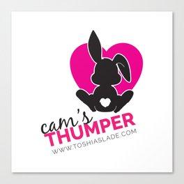 Cam's Thumper [Light] Canvas Print