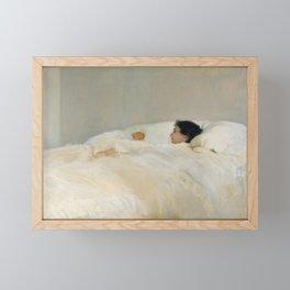 Mother by Joaquin Sorolla, 1895 Framed Mini Art Print