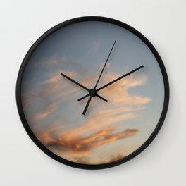Fiery Sky #2 Wall Clock
