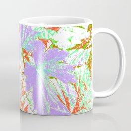 GERANIUM LEAVES SILVER/MULTI Coffee Mug
