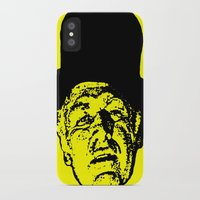 literature iPhone & iPod Cases featuring Outlaws of Literature (Ken Kesey) by Silvio Ledbetter