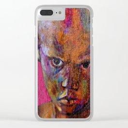 the magician - urban ART Clear iPhone Case