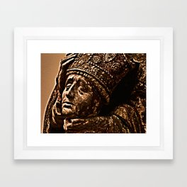 headloss Framed Art Print