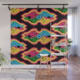 Electric Tribe Wall Mural