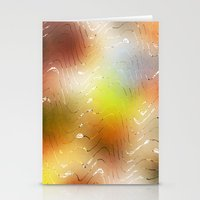 coconut wishes Stationery Cards featuring Wishes  by SensualPatterns