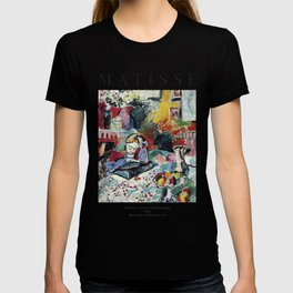 Interior with a Girl Reading - Henri Matisse - Exhibition Poster T-shirt