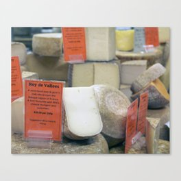 Cheese Shop Canvas Print