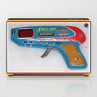 gun iPad Cases featuring GUN by Kathead Tarot/David Rivera