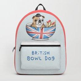 British Bowl Dog Backpack