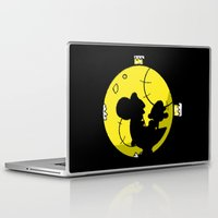 mario bros Laptop & iPad Skins featuring Yoshi and Baby Mario ( super mario bros ) by TxzDesign