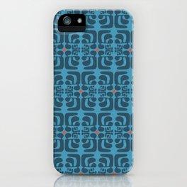 mod blue waves iPhone Case