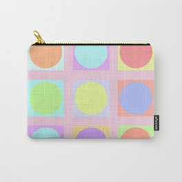 Pastel Dots Carry-All Pouch