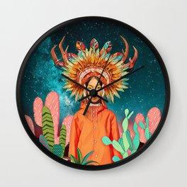 Boho style Wall Clock