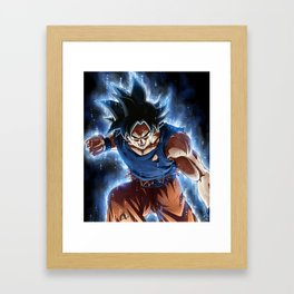 Super warrior z Framed Art Print