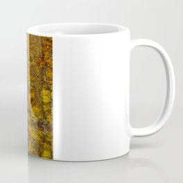 Fall at Upper Falls, Massachusetts.  Echo Bridge Coffee Mug