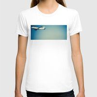 plane T-shirts featuring Plane by vientocuatro