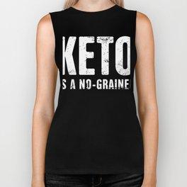 Keto Is A No-Grainer Biker Tank