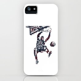 Slam Dunk James iPhone Case