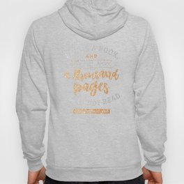 Life is a book Hoody