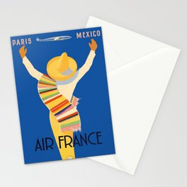 Vintage poster - Mexico Stationery Cards