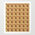 retro postcard . rose in pastel tones by totalflora