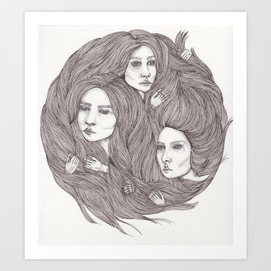 Bonding Art Print