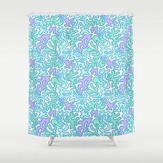 Wild Pattern 2 Shower Curtain