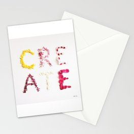 CREATE Petals Stationery Cards